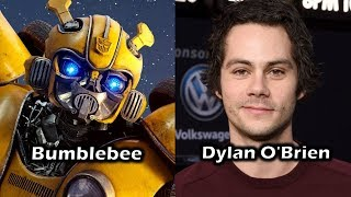 Characters and Voice Actors - Bumblebee