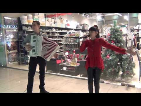 Под небом Парижа (Cover). Диана Анкудинова (Diana Ankudinova) и Андрей Захаров(аккордеон)