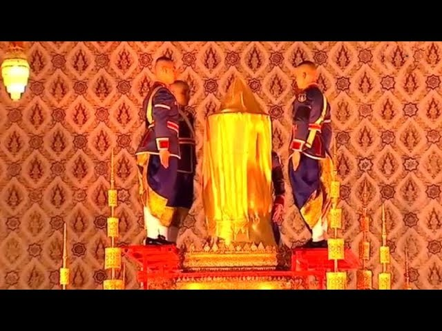 Thailand: Remains of world's longest reigning monarch collected after cremation