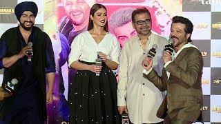 Anil Kapoor And Arjun Kapoor Most Funny Moments At Mubarakan Trailer Launch