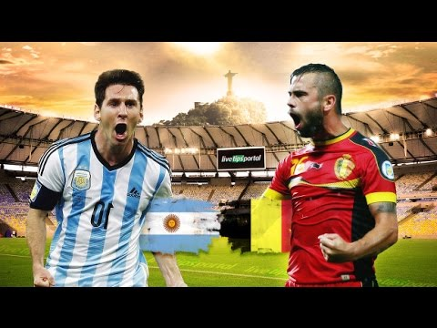 Argentina 1-0 Belgium full highlights | 2014 World Cup 1/4 final | 2014/07/05