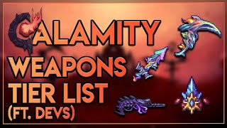 Calamity Weapons Tier List -- Developer Podcast (Day 1)