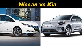 Budget EV Battle | Kia Niro EV vs Nissan Leaf