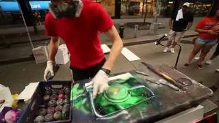 Spray Painting in New York