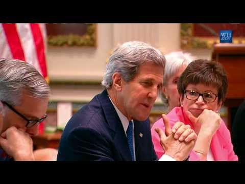 Secretary Kerry Delivers Remarks at the Presidents Task Force on Trafficking in Persons