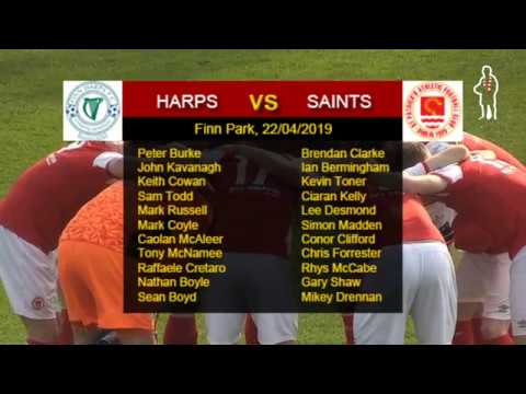 Highlights: Harps 0 - Saints 2 (22/04/2019)