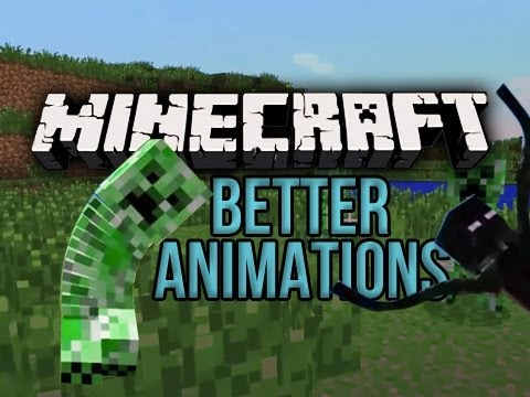 Minecraft: Better Animations Collection - Mod