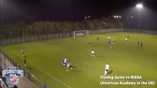 Joe Stacey (Eng), Left Back, 2015 Entry Soccer Scholarship Video