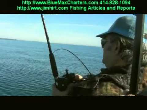 Milwaukee Fishing Lake Michigan Salmon Report 03/31/11