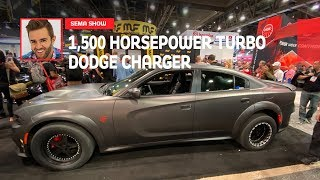1,500 Horsepower Twin-Turbo Dodger Charger: First Look