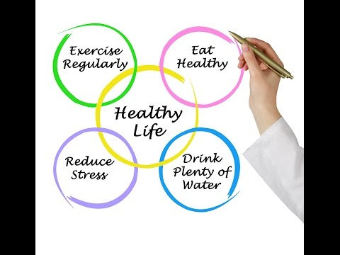Healthy Lifestyle Factors: Healthy lifestyle motivation video!