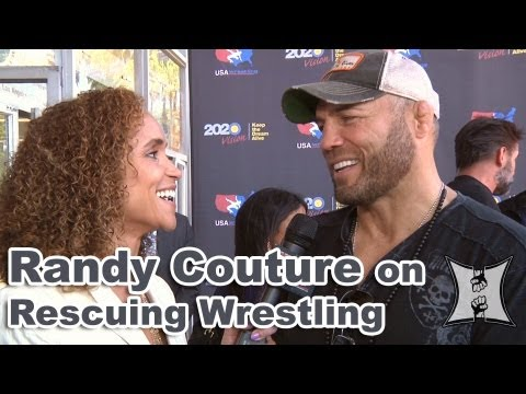 Randy Couture Talks Chael Sonnen, Saving Olympic Wrestling + Bellator's Fight Master