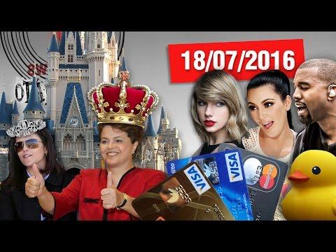Monarquia Rousseff, Tarifa Bancária Gratuita, Fuga da Venezuela e Treta entre Celebridades