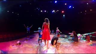 """360 Video: On-Stage at Broadway's """"Once on This Island"""""""