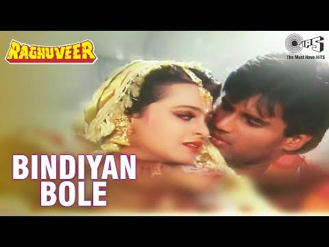 Bindiyan Bole - Raghuveer - Sunil Shetty and Shilpa Shirodkar - Full Song