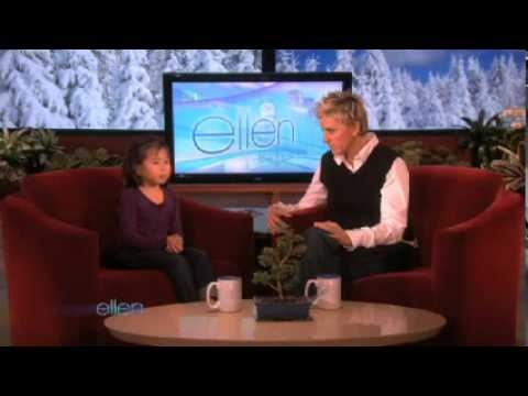 The Adorable 5-Year-Old Kylie Kim Chats with Ellen