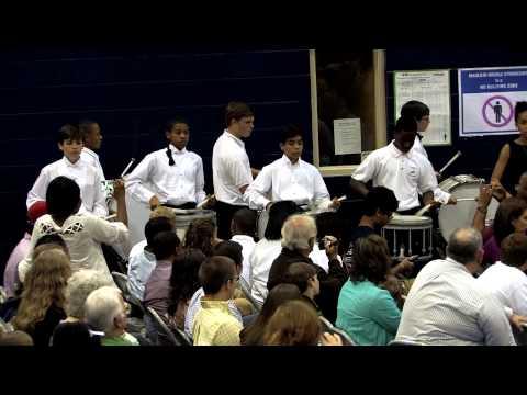 Mauldin Middle School Band - Finale - Spring Concert 2013