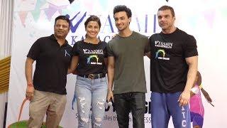 Sohail Khan And Aayush Sharma Organize Fitness Initiative For Lesser Privileged Children