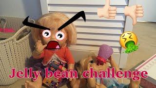 BABY ALIVE: McKenzie & Emma do the Jelly Bean challenge!