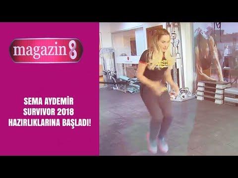 Sema Aydemir Survivor 2018 hazırlıklarına başladı!