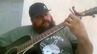 """I'm Not The Devil"" Cover by Cody Jinks & a pipe!"