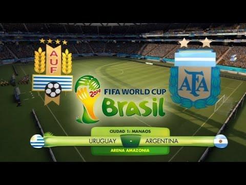 FIFA 2014 World Cup Brazil: Uruguay vs Argentina (Buscando el Maracanazo)