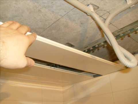 Как правильно сделать потолок в ванной из панелей 581