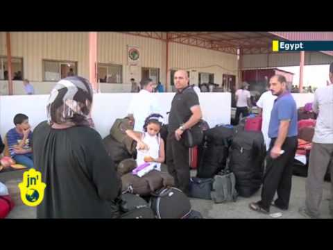 Palestinians stranded in Egypt: Rafah crossing between Egypt and Gaza Strip remains closed