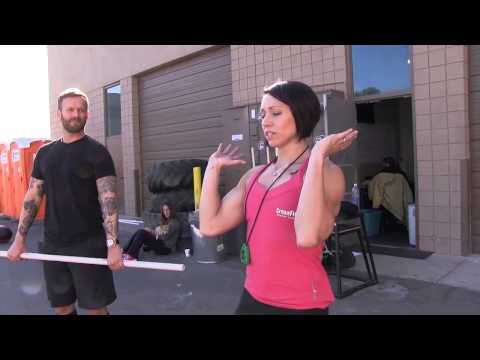 CrossFit - Coaching the Push Press with Miranda Oldroyd