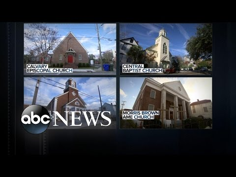 Accused Charleston Shooter Dylann Roof Had List of Other Black Churches