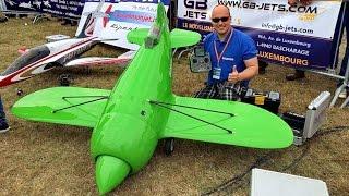 JET-BEE INCREDIBLE EXPERIMENTAL RC TURBINE JET MODEL DEMO FLIGHT / Jetpower Fair 2016