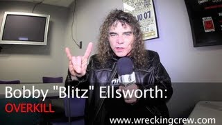 "OVERKILL - New Video Interview With BOBBY ""BLITZ"" ELLSWORTH"