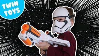 Nerf War:  Star Wars Battlefront Rebels Kids React