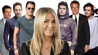 Jennifer Aniston's ex husbands and ex boyfriends