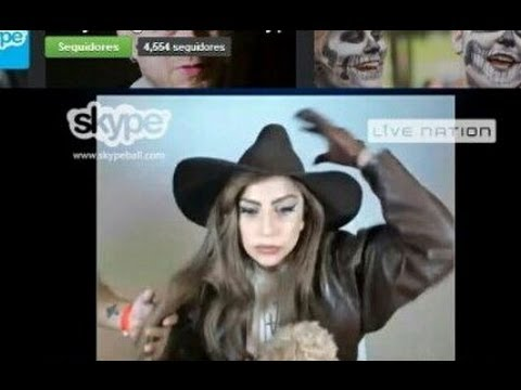 What's Up With Gaga?   Skype Chat, Gun Bra, Charlie Sheen Lap Dance