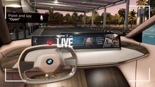 BMW, abbiamo provato l'infotainment del FUTURO!   MWC 2019