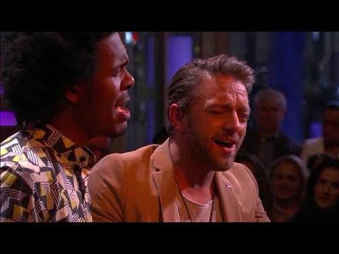 Tommie Christiaan & Jeangu Macrooy - Huil Nou - RTL LATE NIGHT