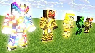 MINECRAFT ANIMATION.TRANSFORM KAMEN RIDER FINAL FORM PART 3- MONSTER SCHOOL