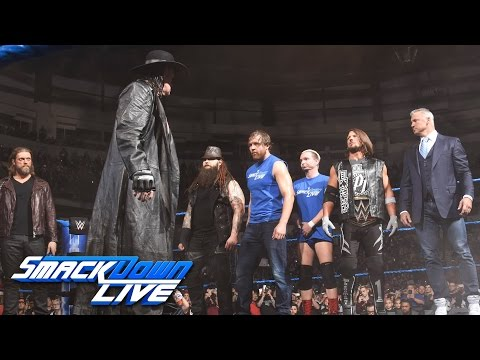 The Undertaker returns with a haunting Survivor Series warning: SmackDown LIVE. Nov. 15. 2016