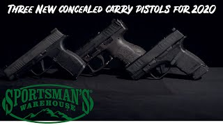Gun Review: Three New Concealed Carry Pistols for 2020