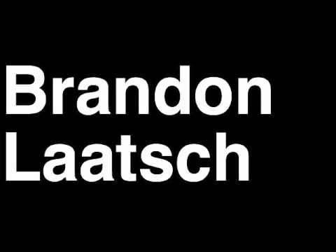 How to Pronounce Brandon Laatsch Freddiew Freddiew2 YouTube Channel Partner Subscribers Money Videos