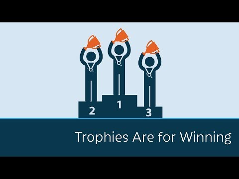 Trophies are for Winning