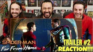 Download Lagu SPIDER-MAN: FAR FROM HOME - Official TRAILER REACTION!!! Gratis mp3 pedia