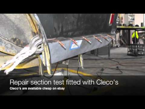 Holden Hq 1 4 Panel Rust Repair Youtube