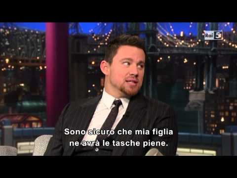 Channing Tatum al David Letterman 25-06-2013 (sub ita)