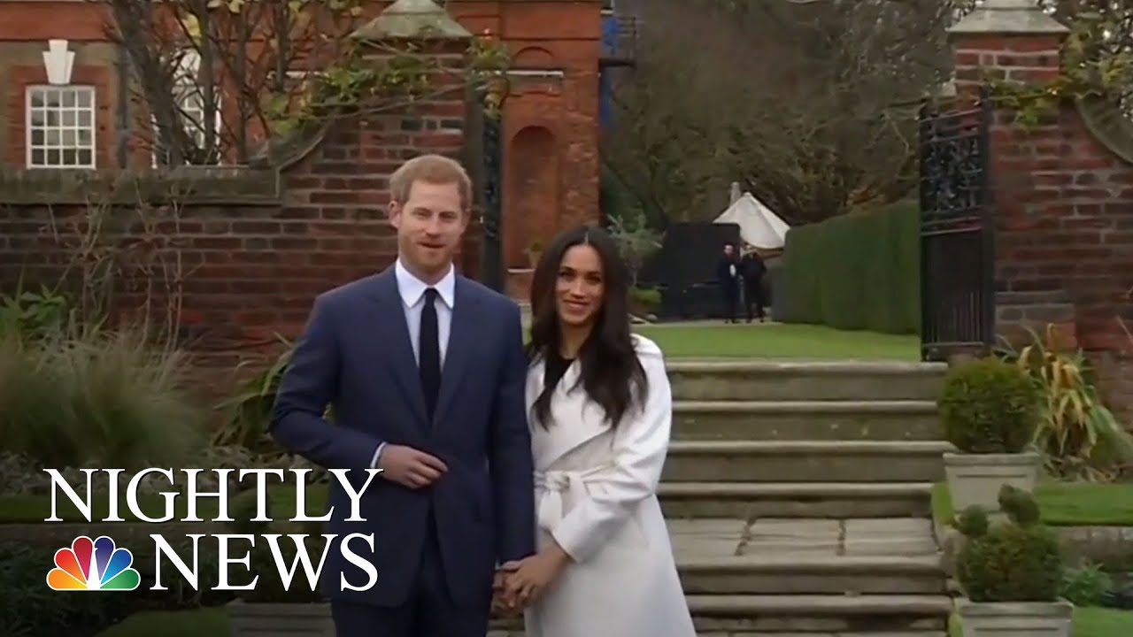 Prince Harry And Meghan Markle Are Engaged | NBC Nightly News