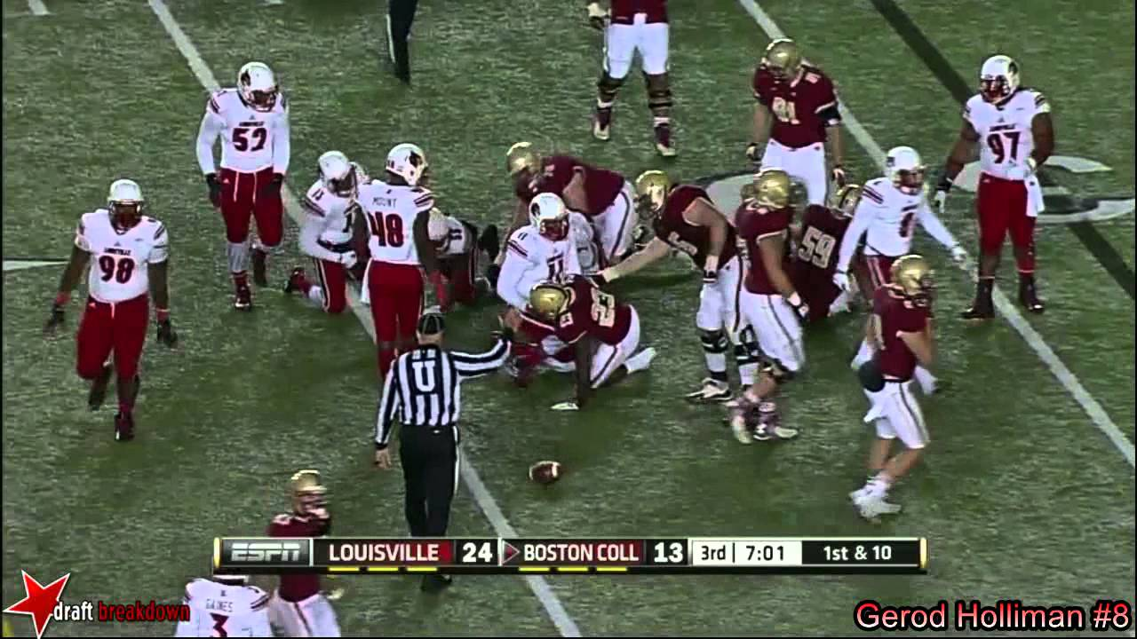 Gerod Holliman vs Boston College (2014)