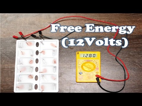 Free Energy Generator Homemade Easy | DIY