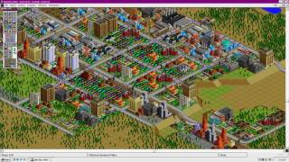 1080p SimCity 2000 for Microsoft Windows GamePlay