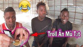 Quanglinhvlogs || TROLL Mấy Anh Da Đen Ăn Mù Tạt Wasabi CÁI KẾT...Cười Đau Bụng